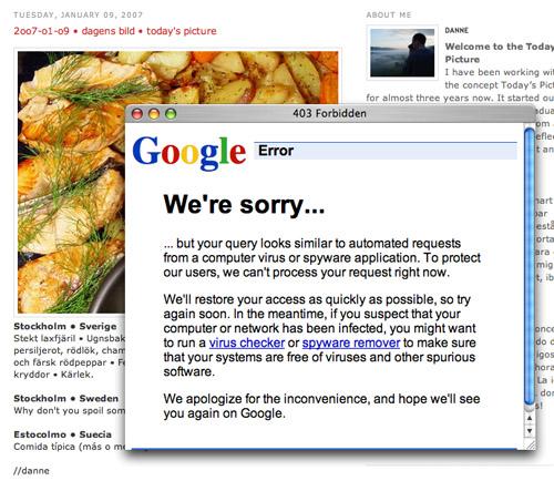 we sorry
